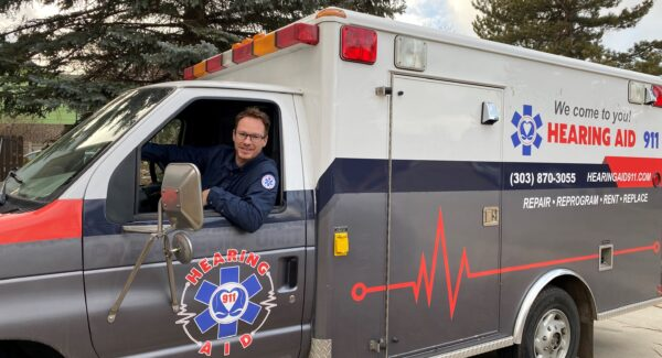 James Richwine in Mobile Ambulance from Hearing Aid 911